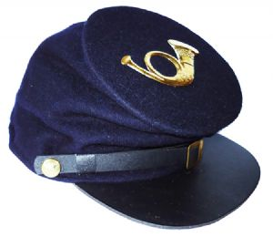 Union Blue Forage Cap With Infantry Badge